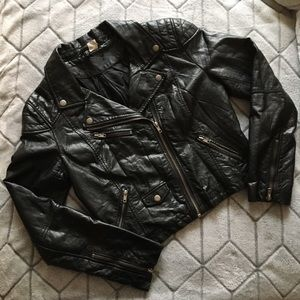 Divided by H&M Faux Leather Jacket